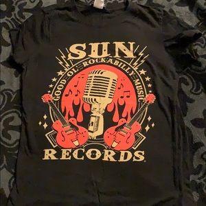 Sun records rockabilly T-shirt